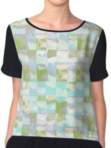 Subtle Resonances (Tropical Garden Lyricism) Chiffon Top