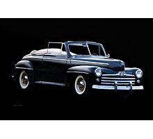 1947 Ford Deluxe Convertible Photographic Print
