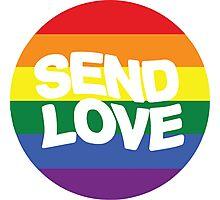Send Love Halsey Badlands Photographic Print