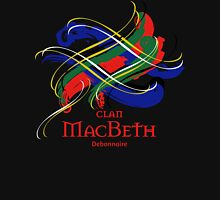Clan MacBeth - Prefer your gift on Black/White, let us know at info@tangledtartan.com Unisex T-Shirt