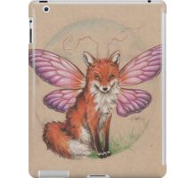 Sly Fox? Flying Fox? FoxFly. iPad Case/Skin