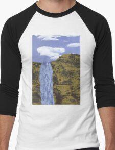 Waterfall Men's Baseball ¾ T-Shirt