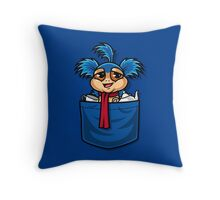 Allo! Come Inside! As seen on TeeFury Throw Pillow
