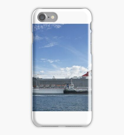 Liner in town iPhone Case/Skin