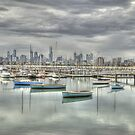 St Kilda Boat Harbour, Melbourne, Victoria by Adrian Paul