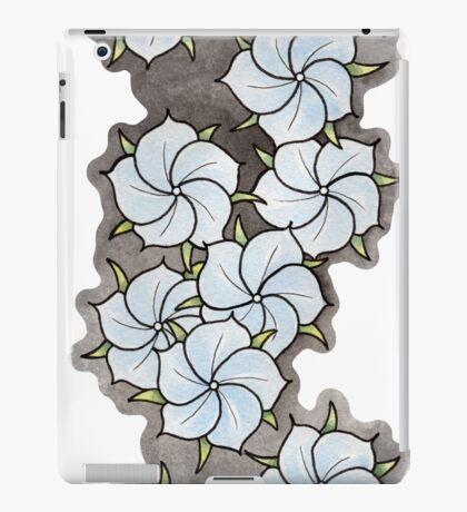 """Blossoms"" Blue. iPad Case/Skin"