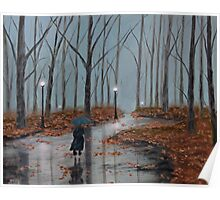 A Dreary Autumn Evening Poster