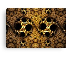 Code of gold Canvas Print