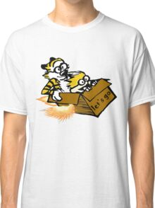 Let's Go Calvin And Hobbes Classic T-Shirt