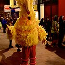 Big Bird - on Streets of Derry, Halloween 2012 by George Row