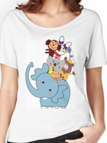 Animales para niños Women's Relaxed Fit T-Shirt