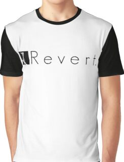 R e v e r t. Graphic T-Shirt