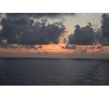 Sun Setting over the Atlantic Photographic Print