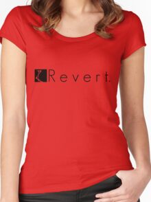 R e v e r t. Women's Fitted Scoop T-Shirt