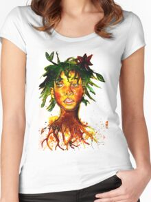 Willow Smith Women's Fitted Scoop T-Shirt