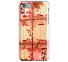 Glowing Lantern Light iPhone Case/Skin