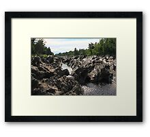 Jay Cooke State Park View Framed Print