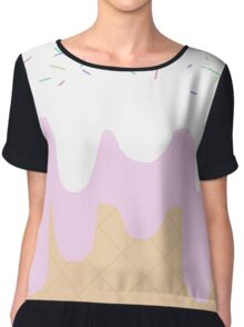 Ice cream  Chiffon Top