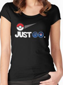 JUST GO POKMON 2016 BMTR Women's Fitted Scoop T-Shirt