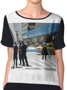 Do Not Cross - Police Line Chiffon Top