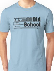 E30 Old School - Black Unisex T-Shirt