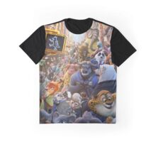Movie Poster (Zootopia) Graphic T-Shirt