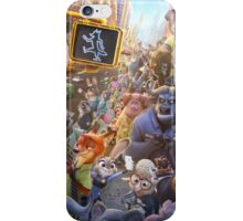 Movie Poster (Zootopia) iPhone Case/Skin