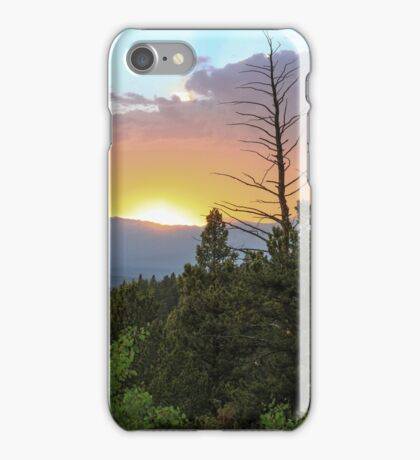 Glowing Sunset iPhone Case/Skin