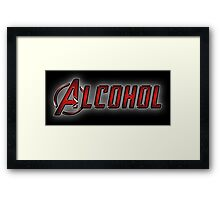 Avengers - Alcohol Framed Print