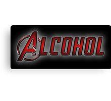 Avengers - Alcohol Canvas Print