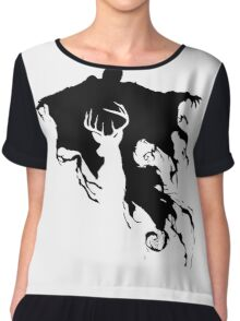 Dementor and Stag Chiffon Top