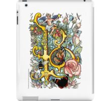 "The Illustrated Alphabet Capital  B  ""Getting personal"" iPad Case/Skin"