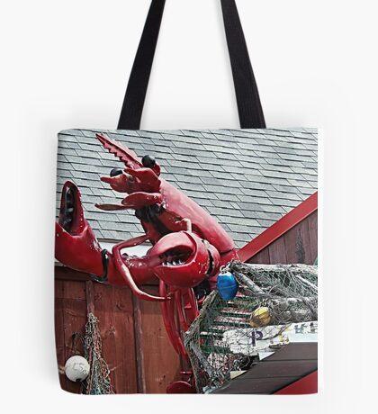 Lobster Topper Tote Bag