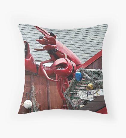 Lobster Topper Throw Pillow