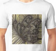 Yellow Mosaic butterfly Unisex T-Shirt