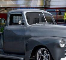 1953 Chevrolet 3100 Custom Pickup 'At Bert's Diner' Sticker