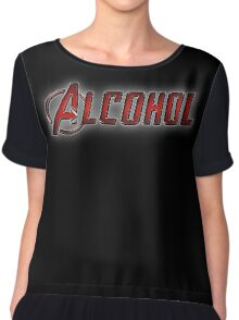 Avengers - Alcohol Chiffon Top