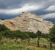Storm Clouds and Garden of the Gods by Gary Horner