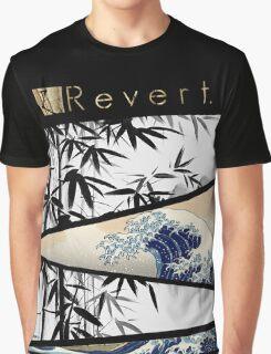Kanagawa Bamboo Graphic T-Shirt