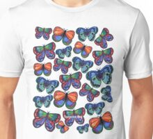 Butterflies Before Your Eyes Unisex T-Shirt