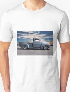1953 Chevrolet 3100 Custom Pickup 'At Dawn' Unisex T-Shirt