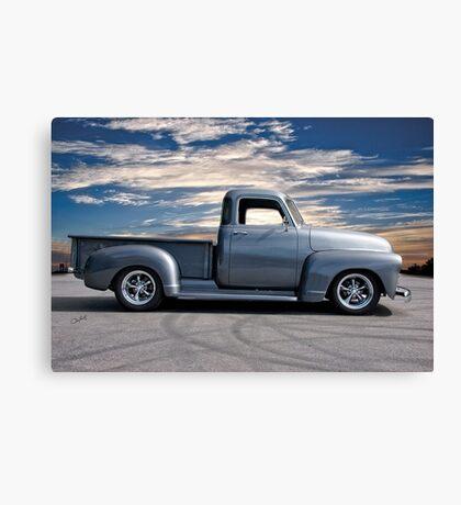 1953 Chevrolet 3100 Custom Pickup 'At Dawn' Canvas Print