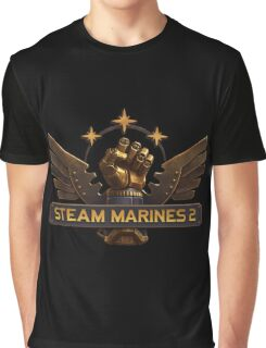 Steam Marines 2 - Logo Graphic T-Shirt