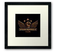Steam Marines 2 - Logo Framed Print