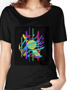 Colorful abstraction Women's Relaxed Fit T-Shirt