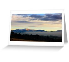 Blackstairs Mountains, County Carlow, Ireland Greeting Card
