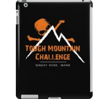 TOUGH MOUNTAIN CHALLENGE 2016 logo BMTR iPad Case/Skin