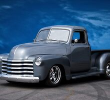 1953 Chevrolet 3100 Custom Pickup 'Dark Sky' by DaveKoontz