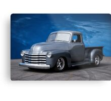 1953 Chevrolet 3100 Custom Pickup 'Dark Sky' Metal Print