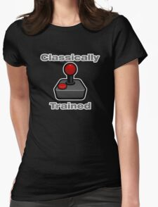 Classically Trained Gamer. Womens Fitted T-Shirt